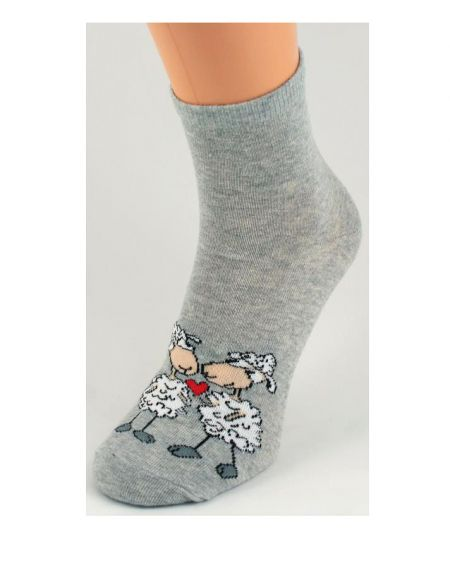 Bratex 642 Valentine's socks for women 36-41