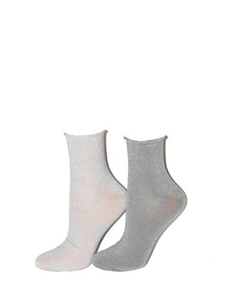 Steven-Socken, Art.-Nr. 158 Lurex glatt 35-40