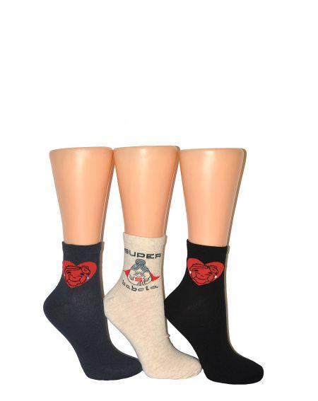 Bratex Classic Socks Occasional Grandma's Day 36-41