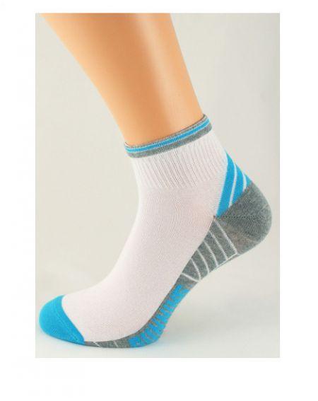 Calcetines de mujer Bratex 3061 Sport, patrón 36-41