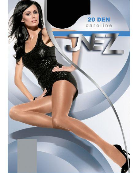Inez Caroline Elastische Strumpfhose 20 den 6-3XL
