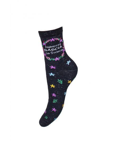 Milena 0200 Socks Occasional For Grandma 37-41