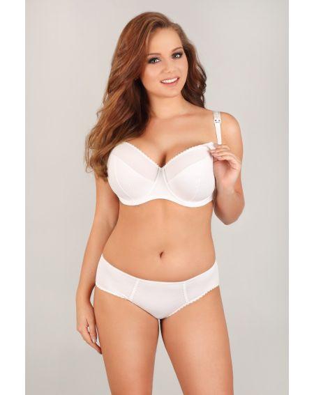 Lupoline 1381 Big K white semi soft bra