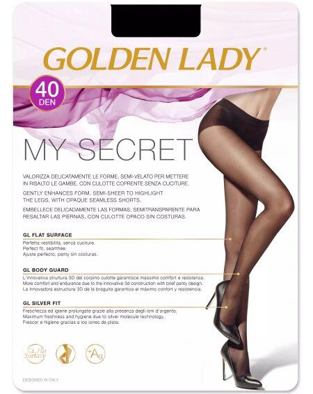 Dame d'or mon secret 40 den