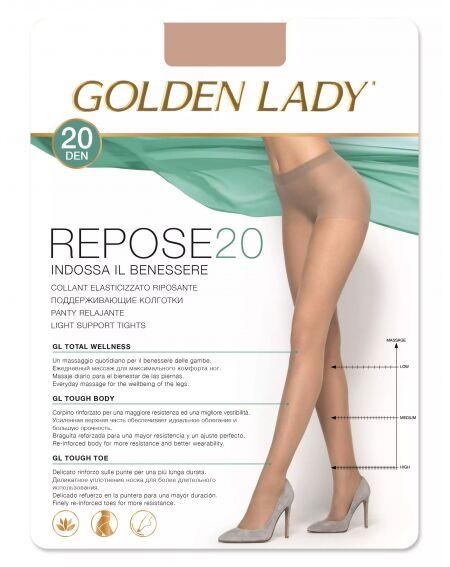 Golden Lady Reposo 20 den