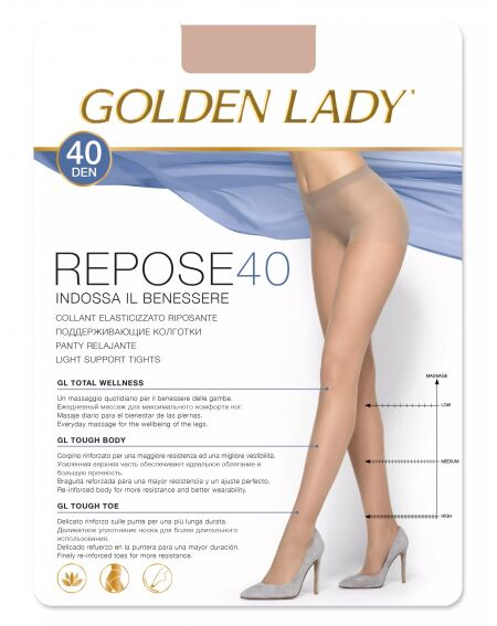 Golden Lady Repose 40 den