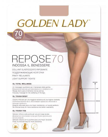 Golden Lady Repose 70 den