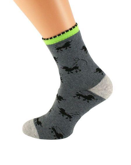 Bratex 037 Damen Frotta Socken, Muster 36-41