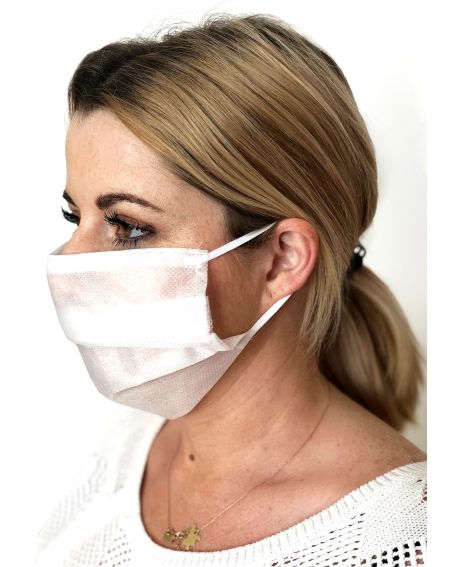 Máscara protectora de vellón de 3 capas L&L A'20