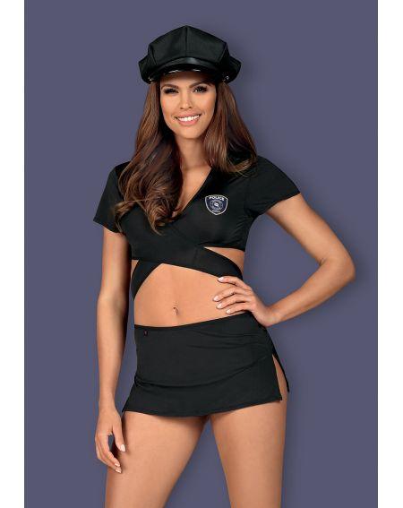 Komplet Obsessive Police Uniform
