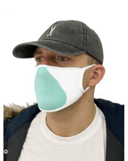 Máscara Orlovski con bolsillo de Iona Silver