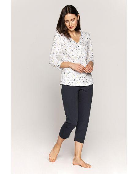 Piżama Cana 555 3/4 S-XL