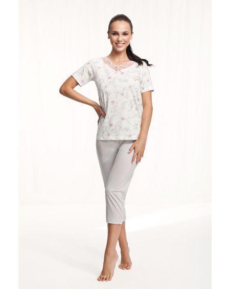 Piżama Luna 571 kr/r 4XL damska