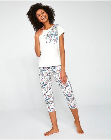 Piżama Cornette 670/200 Sophie 3XL-5XL damska