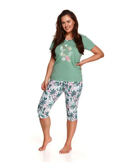 Piżama Taro Donata 2187 kr/r 4XL-6XL L'21 Coton&Lycra