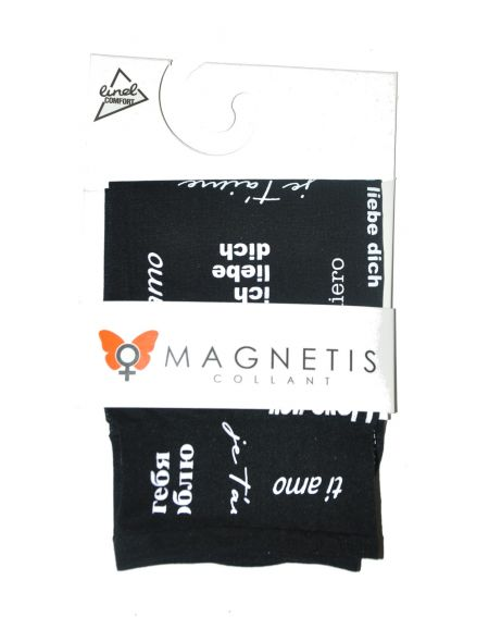 Magnetis Love You Mikrofasersocken