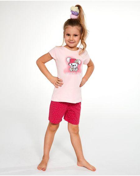 Cornette Kids Girl 787/85 Pyjama Little Mouse kr / r 86-128