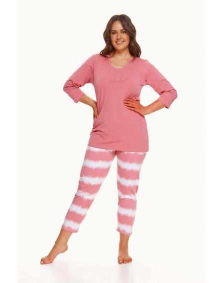 Piżama Taro Carla 2606 3/4 2XL-3XL Z'22