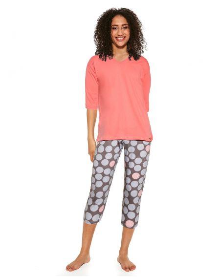Piżama Cornette 451/299 Mary 3/4 3XL-5XL