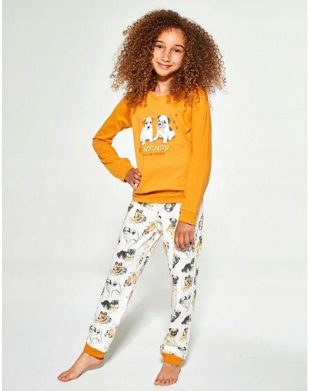 Piżama Cornette Kids Girl 594/145 Dogs dł/r 86-128