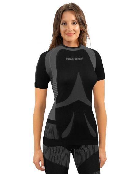 T-shirt Sesto Senso 1497/18 kr/r Thermoactive Femmes S-XL