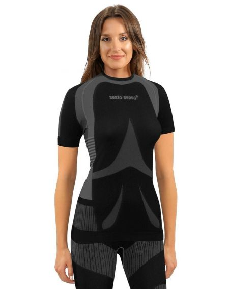 T-Shirt Sesto Senso 1497/18 kr / r Thermoaktiv Damen S-XL