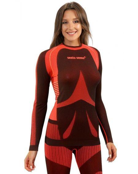 Koszulka Sesto Senso 1497/19 dł//r Thermoactive Women S-XL
