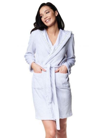 Henderson Ladies 39310 Zippo S-XL bathrobe