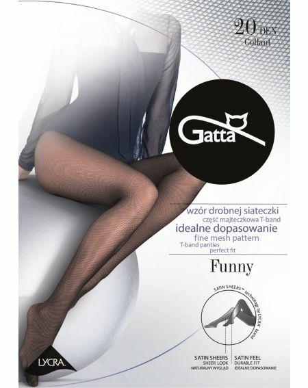 Rajstopy Gatta Funny 20 den 2-4