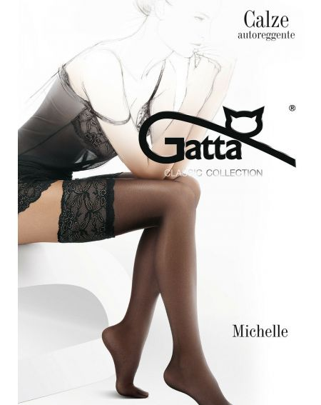 Gatta Michelle stockings No. 03 lycra 20 den 1-4