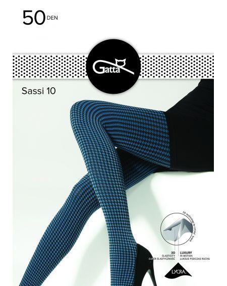 Collants Gatta Sassi motif 10 50 deniers 2-4