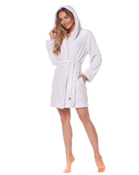 L&L 2121 Rabbit S-XL bathrobe for women
