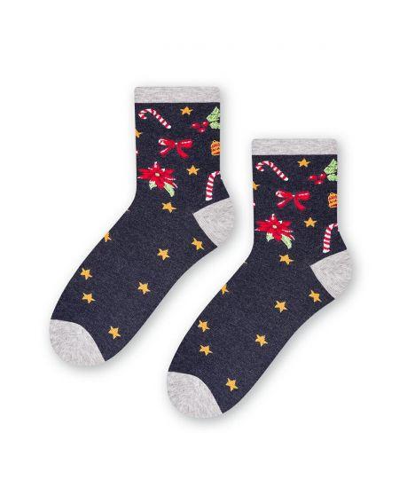 Steven Socken Art.136 Weihnachten Damen 35-40