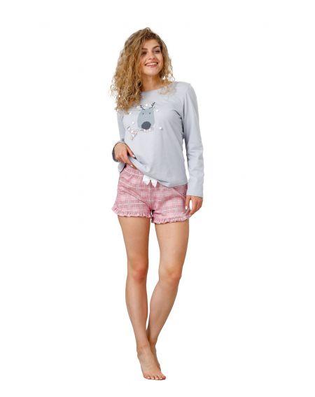 Piżama M-Max Aurola 983 dł/r S-XL