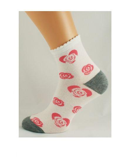 Bratex D-001 Socken, Damenmuster 36-41