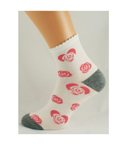Bratex D-001 socks, women's pattern 36-41