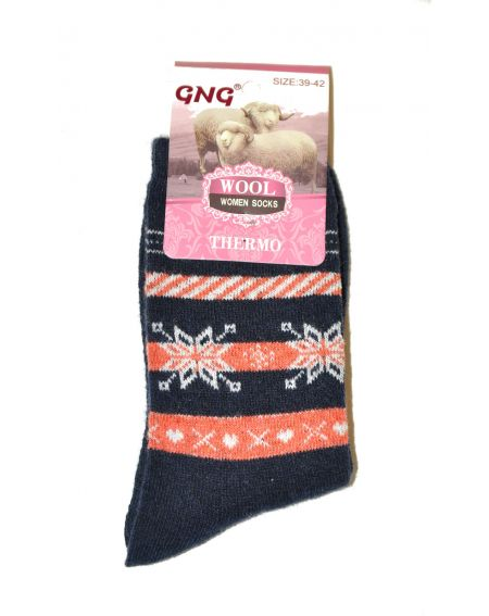 Chaussettes Ulpio GNG 3001 Thermo Laine