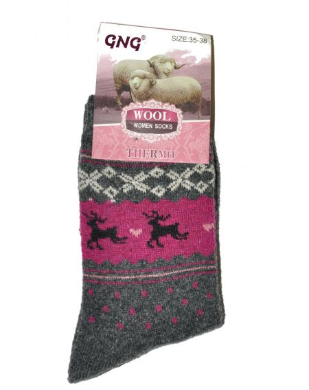 Chaussettes Ulpio GNG 3319 Thermo Laine