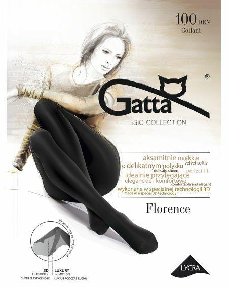 Gatta Florence Strumpfhose 100 Denier 2-4