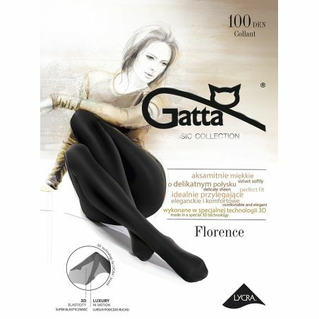 Rajstopy Gatta Florence 100 den 2-4