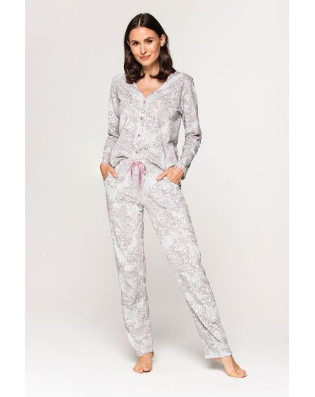 Piżama Cana 580 dł/r S-XL