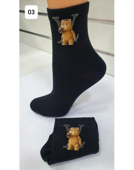 Magnetis 59 Bear 3D 21/22 socks