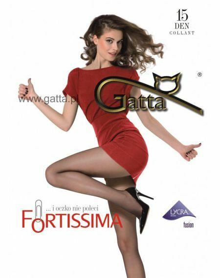 Rajstopy Gatta Fortissima 15 den 2-4