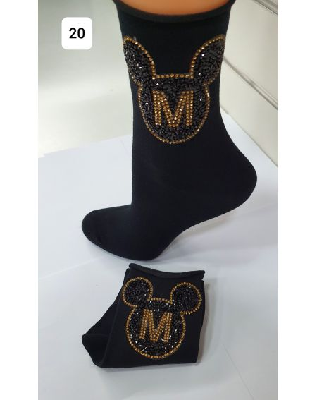 Chaussettes Magnetis 41 Minnie 21/22