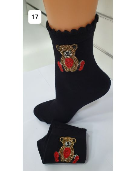 Chaussettes Magnetis 40 Ours 21/22