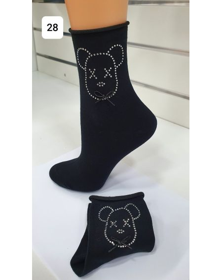 Calcetines Magnetis 61 Bear Bow Tie 21/22