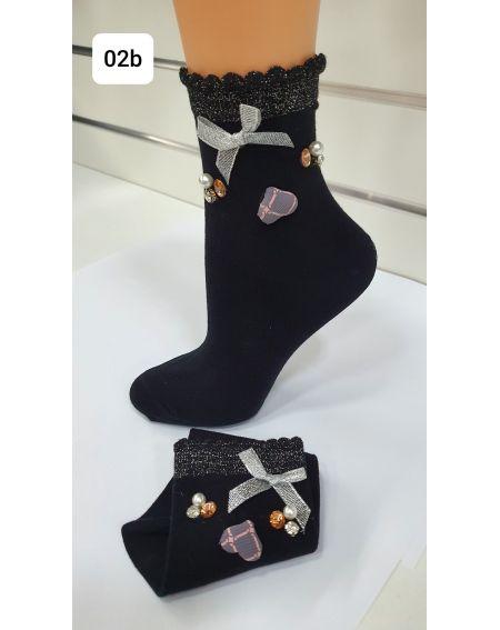 Magnetis 60 Heart / bow 21/22 socks