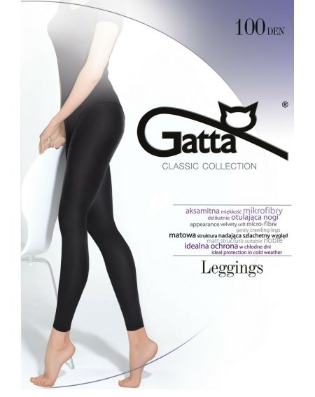 Legginsy Gatta Microfibra 100 den 5-XL
