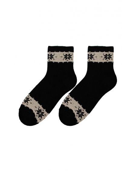 Calcetines de invierno Bratex D-060 para mujer, patrón 36-41