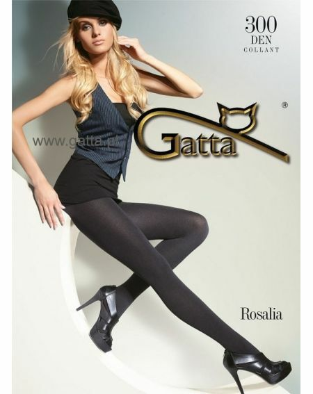 Collant Gatta Rosalia 300 deniers 5-XL